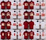 Abitudine rossa bianca del pullover di football americano dell'elite di Desean Jackson Josh Doctson Taylor dei cugini di Washington Kirk dei bambini dei capretti delle donne del Mens qualsiasi nome qualsiasi numeri