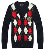 学生服の赤ん坊のセーターのカーディガン