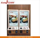 OEM de Vloer die van 15.6 Duim LCD Signage van de Vertoning de Digitale Kiosk van de Betaling van de Bankkaart van de Rekening van de Zelfbediening van de Kiosk van de Informatie van het Scherm van de Aanraking van de Reclame Interactieve bevindt zich