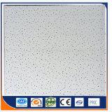 Panel de fibras mineral/azulejos minerales suspendidos acústicos del techo de la fibra