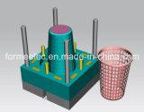 Vêtements Panier Conception du moule par injection plastique de la fabrication de vêtements de moule de la caisse