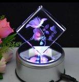 De gouden Machine van de Gravure van de Laser van het Kristal van de Foto van de Prijs 3D voor Verkoop