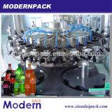 3 en 1 Ligne de remplissage et de couchage de la pression de rinçage / machine à boire