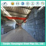Galvanisierte heißes BAD Q235 Stahlstahlgefäß des quadrat-Pipe/Gi/geschweißtes Rohr