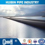 Milieu urbain et rural Pipeline de l'eau potable en polyéthylène