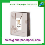 Suporte de papel de luxo com alça de sacos de compras