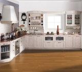 オーストラリアの標準贅沢で標準的で白いカスタマイズされた食器棚