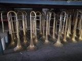 Cheap Trombone ténor/ Laque d'or /débutant Instrument de musique