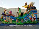 Heißer Verkaufs-aufblasbares Piraten-Boot, Bienen-springendes Boot, springender Prahler