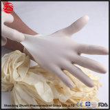 Cuidados médicos descartáveis Látex sem pó de nitrilo PVC luvas de protecção