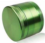 4capas 63mm de aleación de aluminio Molinillo hierbas para el tubo de cigarrillos