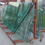 19mm super grande de vidro laminado temperado para Arranha-céus