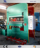 Placa de Tipo da estrutura profissional de imprensa de vulcanização para produção de tapetes de borracha