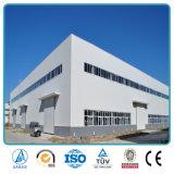 """Construction industrielle d'atelier de panneau """"sandwich"""" de structure métallique d'usine préfabriquée d'usine"""