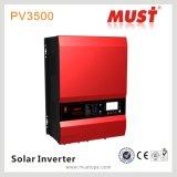 Inversor do poder solar do híbrido 10kw 48V DC/AC da obrigação PV3500series MPPT