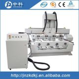 Ranurador del grabado del CNC caliente de la tapa y de la alta calidad para la venta