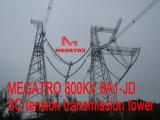 De Toren van de Transmissie van de Spanning van Sc 8A1-Jd van Megatro 800kv