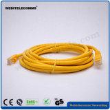 Het Koord van het Flard van Ethernet RJ45 CAT6 UTP/het Lood van het Flard