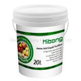 El ácido húmico líquido fertilizante orgánico