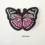 Красивейшая бабочка нестандартной конструкции сформировала утюг значка вышивки вышитый заплатой на заплате Applique сублимации конструкции