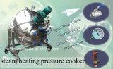 やかんを調理するやかんの込み合いを調理する真空