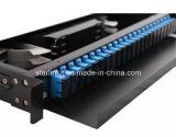 24 quadri d'interconnessione di fibra ottici montati cremagliera scorrevole Port
