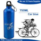 Алюминиевая бутылка воды BPA спорта освобождает