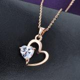 Monili del regalo di giorno del biglietto di S. Valentino Pendant della collana di stile del cuore