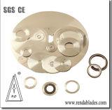 610 680 870 Registro D2 de la hoja de sierra cortadora circular para tejidos/Corte de Papel higiénico