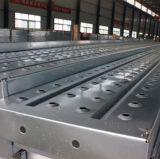240*45 de gegalvaniseerde Plank van het Staal van de Steiger