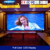 Afficheur LED visuel d'intérieur de mur de la qualité P6 1/8s RVB