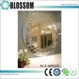 Arte Decorativa moderno grande espelho redondo para o espelho na parede do lobby do Hotel