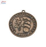 판매를 위한 창조적인 축구 금속 메달을 주문을 받아서 만드십시오