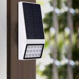 En el exterior jardín lámpara de pared de ABS con protección IP65 El Ahorro de Energía Solar de pared de luz LED