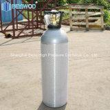 Serbatoio di gas di alluminio del CO2 del cilindro del CO2 di DOT3al 20lbs per la bevanda