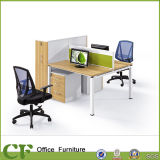 中国の家具の工場6つのシートのための木のオフィスの区分表