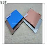 Ce, GV, miroir libre de cuivre teinté bleu d'argent de dos de vinyle de Csi 4-6mm