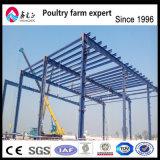 A melhor qualidade monta a oficina da construção de aço do frame de edifício