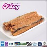 Рыб и кожу и куриное мясо для собак частных логотип собака закуска