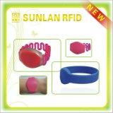 Wristband del silicio RFID de la alta calidad para el hospital