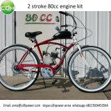 Benzin-Motor-Installationssätze, Treibstoff-Motor 80cc, der Fahrrad läuft