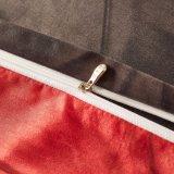 Botão de impressão 3D microfibra estilo edredão de cama da Tampa