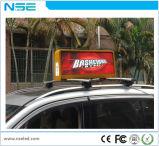 Indicador de anúncio superior do táxi do diodo emissor de luz de China dos produtos P5 novos