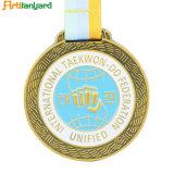 Специализированные спортивные медали высшего качества с золотым покрытием