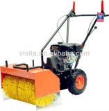 Multifuncional 4 en 1 80cm de ancho de la gasolina Sweeper con quitanieves