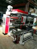 Il doppio colora la stampatrice di Flexo della pellicola di HDPE/LDPE