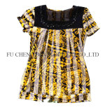 2016 Newest of Used Clothing of Morden Style Lady Ashion Chiffon Dress for African Market (FCD-002)