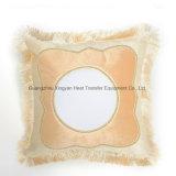 Cassa quadrata del cuscino di scambio di calore dello spazio in bianco di sublimazione, cassa in bianco del cuscino per stampa di sublimazione DIY
