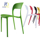 2018 Café modernas de diseño italiano de plástico apilables sillas al aire libre