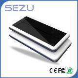 Berge solaire 10000mAh de Charger Slim Mobile Power pour Ipone6 Plus Samsung